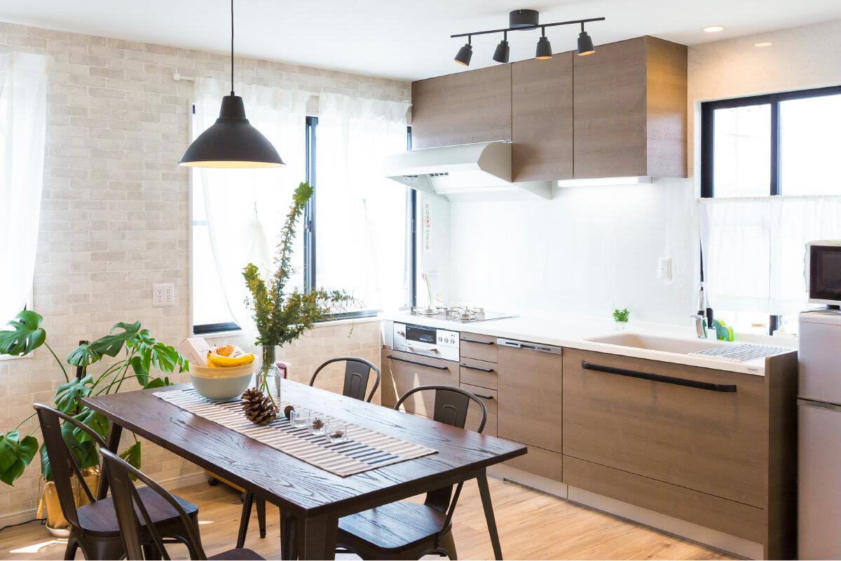 新しいキッチンで気持ちよく料理したい!